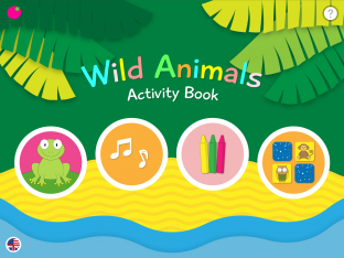 Wild Animals - Activity Book