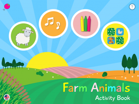 Farm Animals - Activity Book