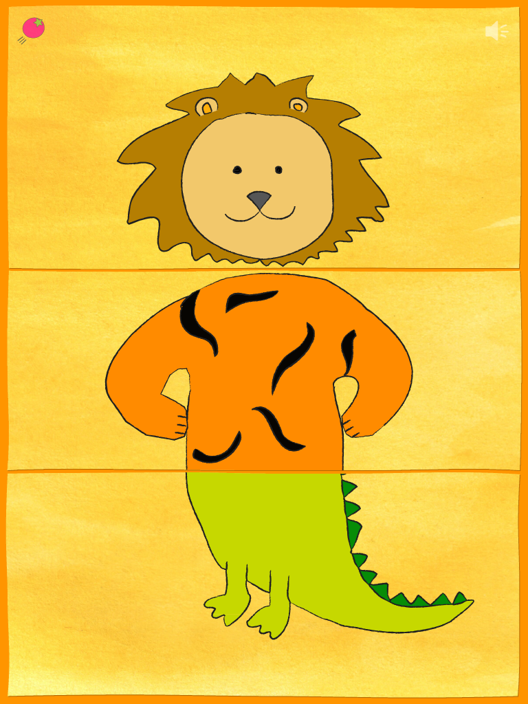 Mix & Match ZOO - Lion, Tiger, Crocodile