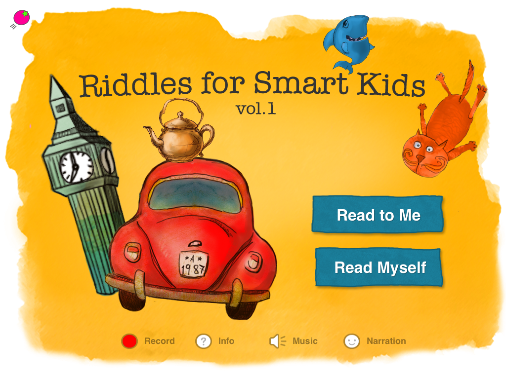 Classic Riddles for Smart Kids - Book 1